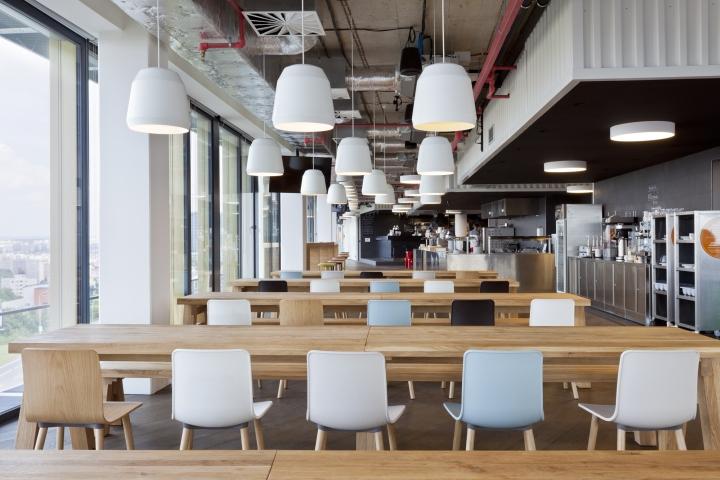 Интересный интерьер и декор офиса: столовая