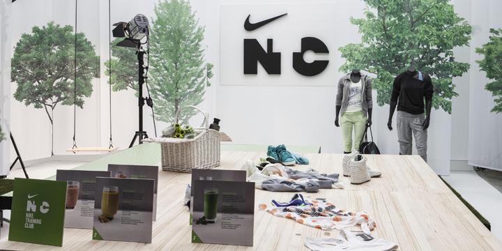 Спортивный женский клуб Nike Training Club Madrid Hub