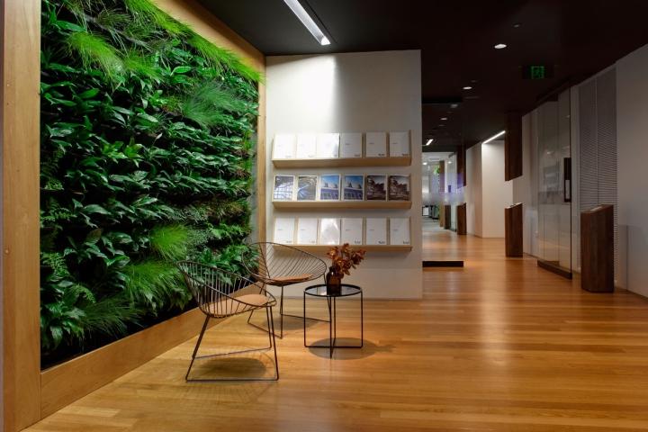 Биодизайн офиса в Австралии