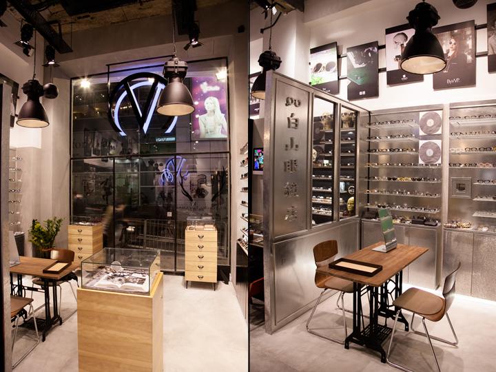 Новый магазин оптики Visual Culture Optical: серебряная коллекция