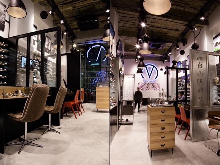 Новый магазин оптики Visual Culture Optical с дизайнерской мебелью