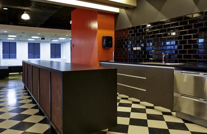 Кухня офиса компании NZ Racing Board