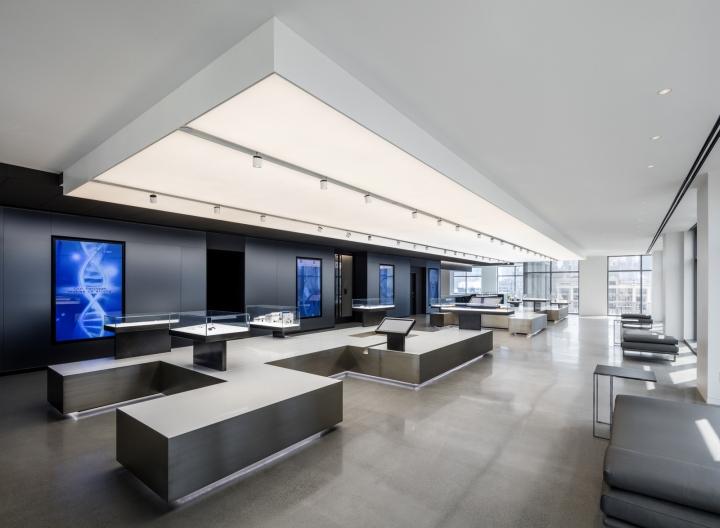Обустройство офиса от бюро Ted Moudis Associates