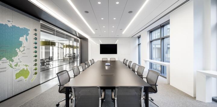 Обустройство зала для переговоров в офисе