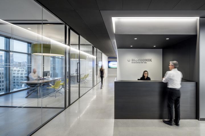 Обустройство офиса компании Biotronik