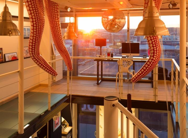 Обустройство офиса Studio 54. Фото 10