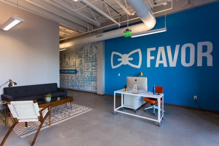 Обустройство офиса в Техасе, США: необычный дизайн