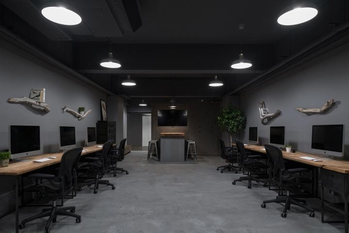 Обустройство рабочего кабинета в офисе от otherwhere