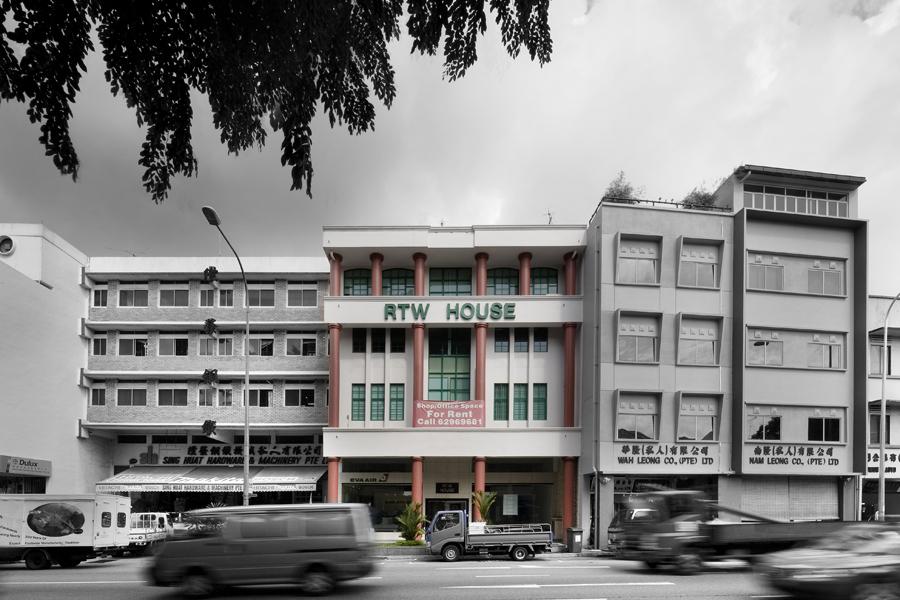 Здание офиса в Сингапуре от студии SKLIM