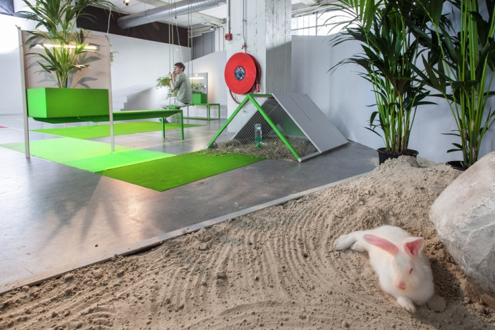 Необычный дизайн офиса от студии KNOL в Эйндховене, Нидерланды