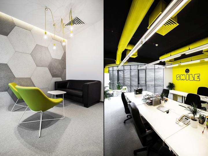 Подвесные светильники в интерьере рабочего пространства и зоны для отдыха