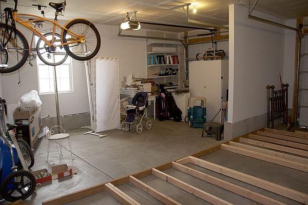 Фото комнаты в гараже как ее сделать