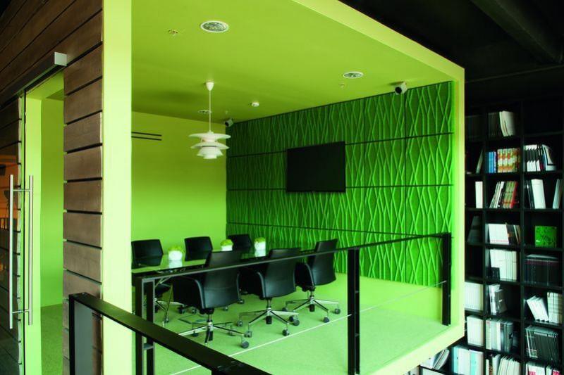 Интерьер офиса студи дизайна DK Project