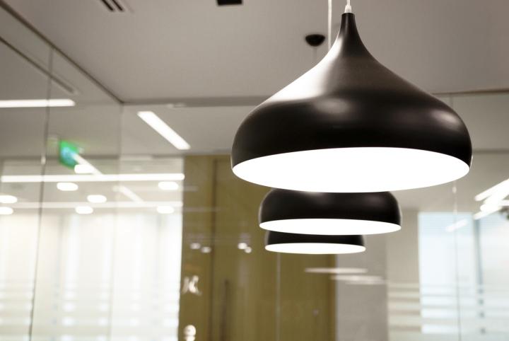 Необычная форма подвесных светильников