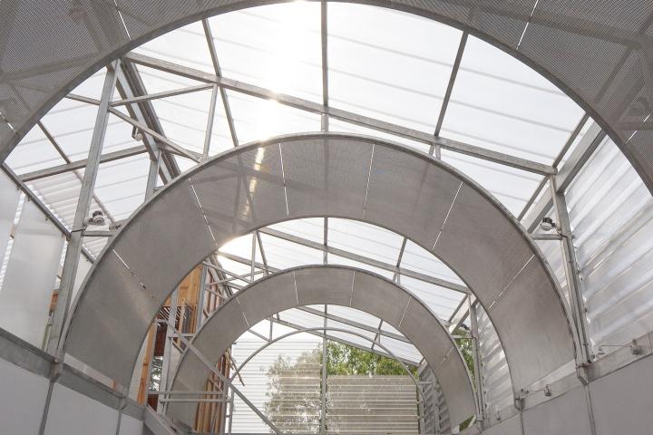 Офис для ателье в Шанхае: арочный потолок