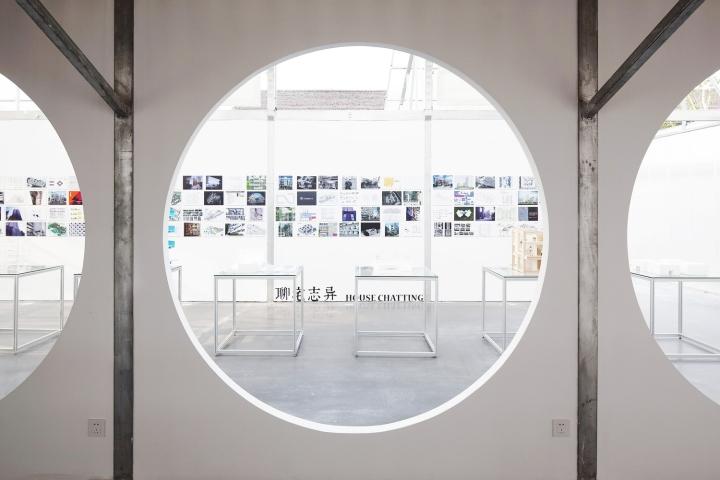 Офис для ателье в Шанхае. Выставочное пространство