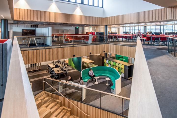 Офис для совместной работы компании Trustpower в Новой Зеландии