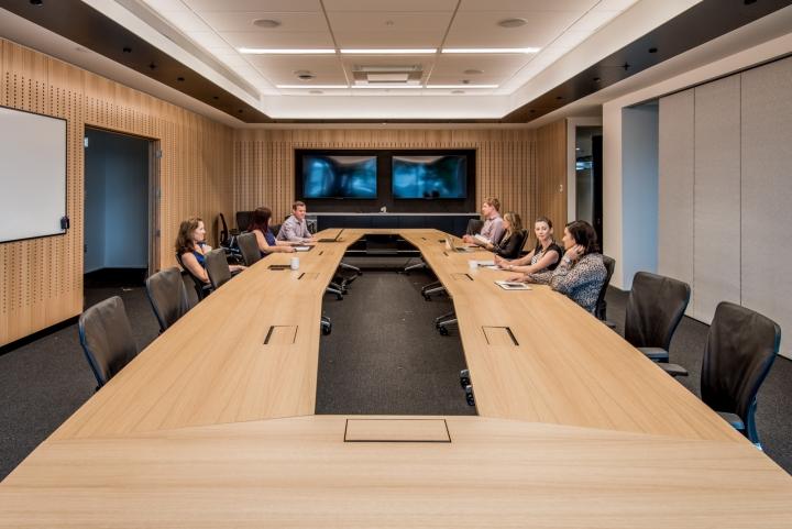 Офис для совместной работы компании Trustpower - место для совещаний