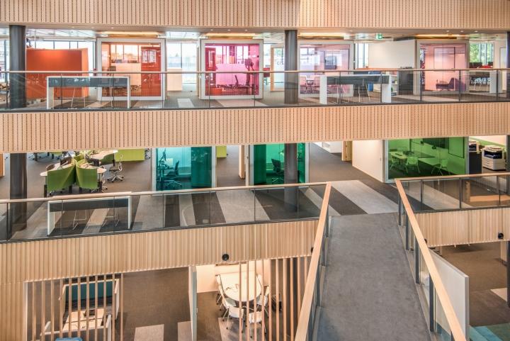 Офис для совместной работы компании Trustpower - общий вид. Фото 1