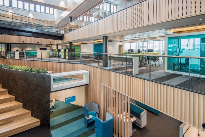 Офис для совместной работы компании Trustpower - общий вид. Фото 3