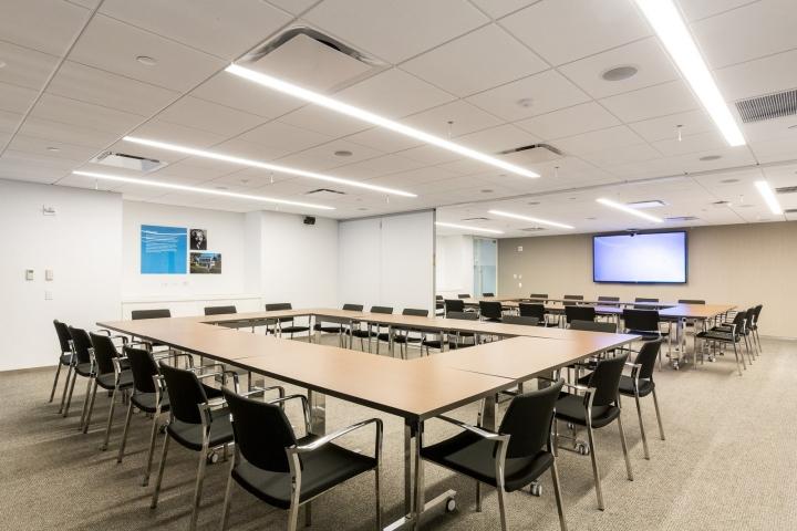 Офис издательства Macmillan, Нью-Йорк - конференц-зал