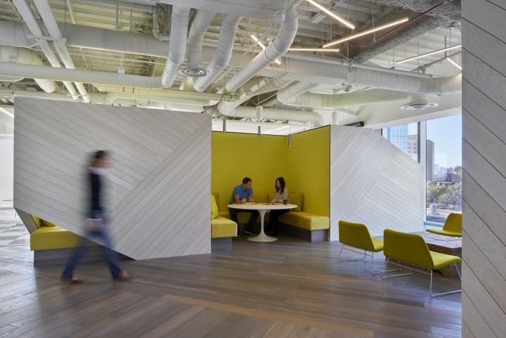 Зона для общения с клиентами в офисе