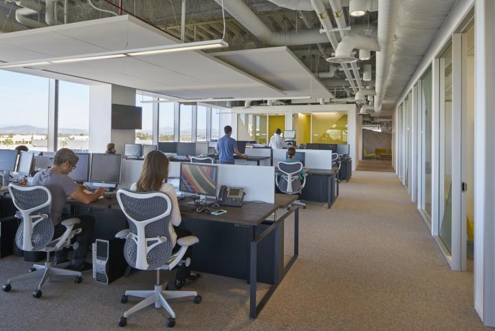 Рабочее пространство в офисе компании Neustar
