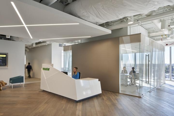 Приёмная в офисе компании Neustar