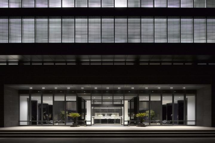 Офис с красивым интерьером в Шанхае, Китай: вид на офис. Фото 2