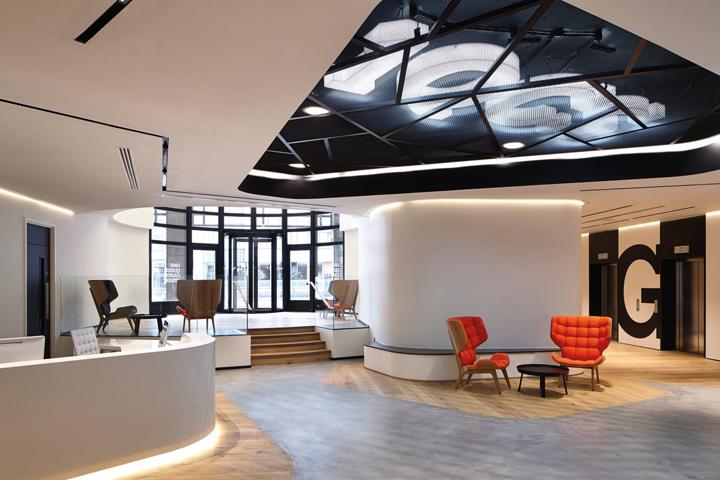 Офис с террасой в Великобритании