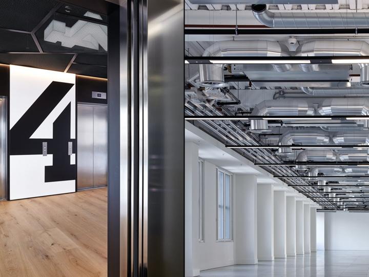 Офис с террасой в Великобритании: элементы индустриального стиля. Фото 1