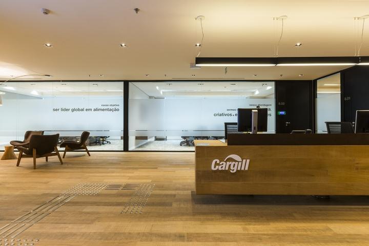 Приёмная офиса Cargil в Бразилии