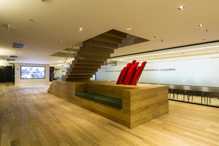 Интерьер офиса Cargil в Бразилии