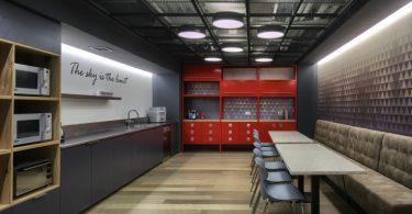 Яркий офисный дизайн от Auerbach Halevy Architects