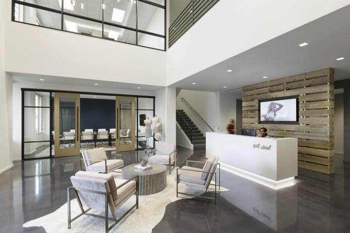 Офисный дизайн от дизайнерской фирмы LPA
