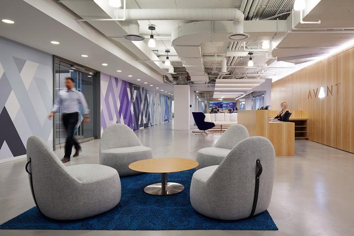 Офисный интерьер в Чикаго, Иллиноис