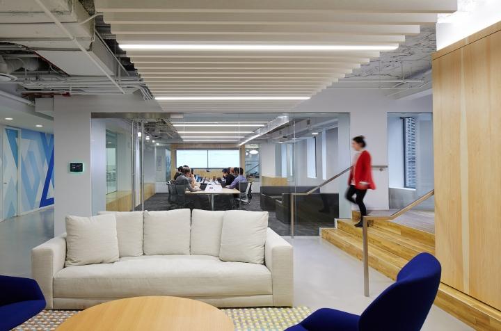 Офисный интерьер в Чикаго, Иллиноис: необычный дизайн