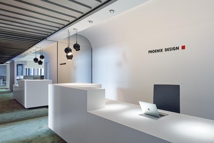 Офисный интерьер от Ippolito Fleitz Group в Германии