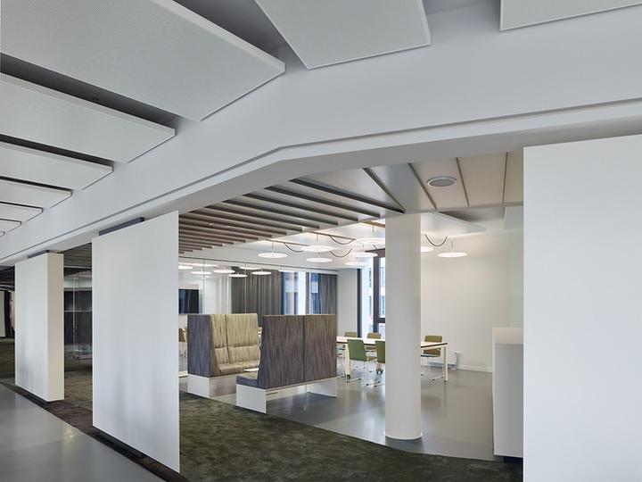 Офисный интерьер от Ippolito Fleitz Group в Германии: стол-кухня: интерьер офисов Phoenix Design. Фото 2