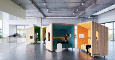 Офисные блоки от сингапурского дизайнера