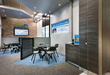 Оформление интерьера офиса компании Goodlife Homes