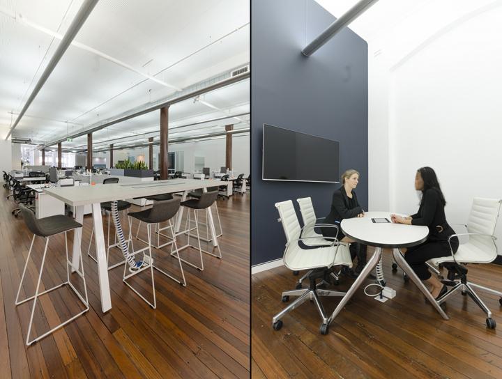 Оформление интерьера офиса Co-op в Австралии