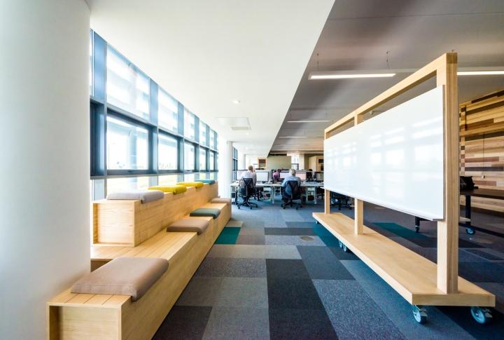 Оформление интерьера офиса: место для презентаций