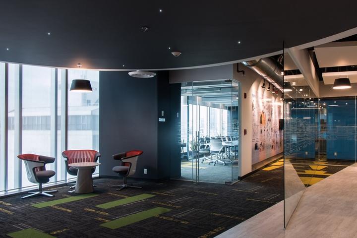 Стильное оформление интерьера офиса Panduit в Мексике. Фото 4