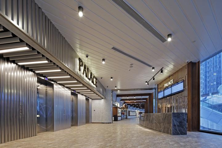 Оформление кинотеатра Palace Cinema в Китае