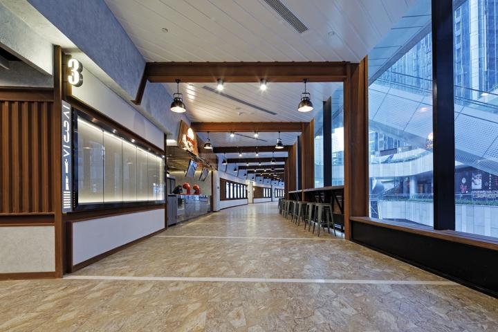 Оформление кинотеатра Palace Cinema в Китае: панорамное остекление
