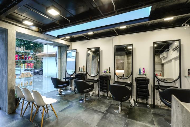 Оформление салона красоты: небольшая площадь с множеством услуг