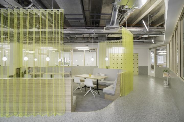 Организация рабочего пространства в офисе The Office Group