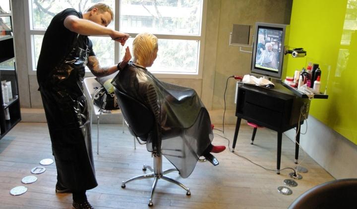 Оригинальное оформление салона красоты: новейшие технологии