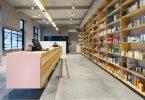 Дизайн интерьера аптеки Van Dijck в Бельгии